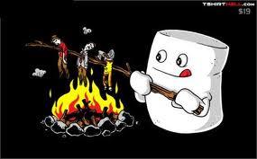 Marshmallow Taart