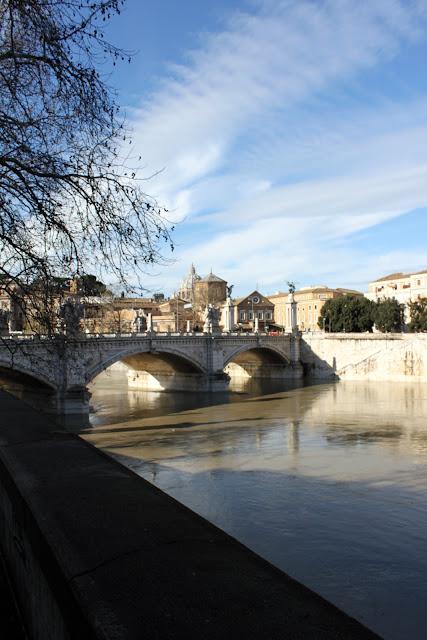 Vista da Castel Sant'Angelo-Roma