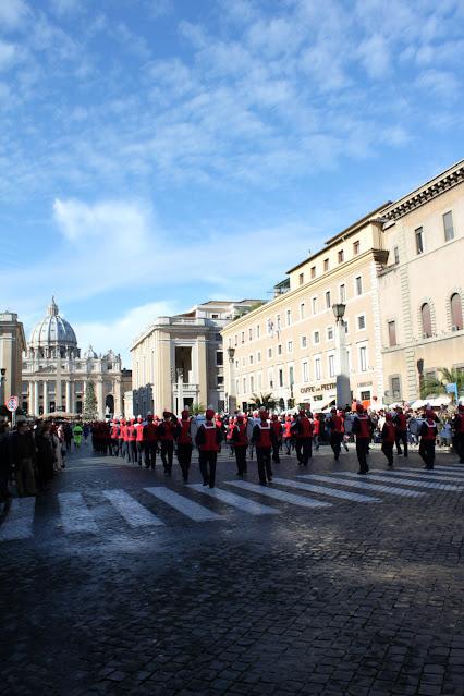 Sfilata della Befana su Via della Conciliazione-Roma