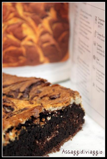 Brownies marmorizzati