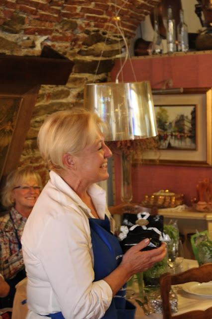 Diana Monaco al Raduno del forum de La Cucina italiana a Bordighera