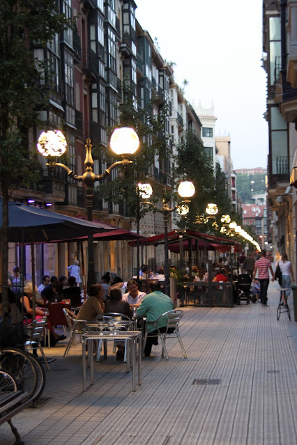 Strada pedonale-Bilbao