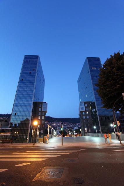 Torres Isozaki-Bilbao
