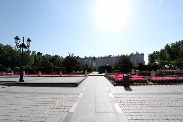 Palazzo reale-Madrid