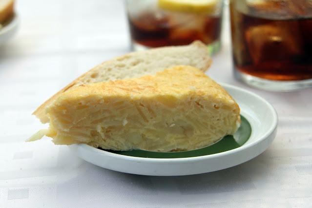 Tortilla di patate-Ristorante Serafin-Zamora