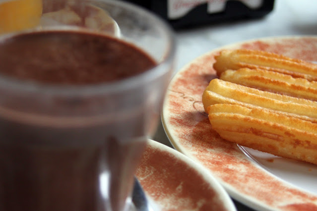 Cioccolata e churros
