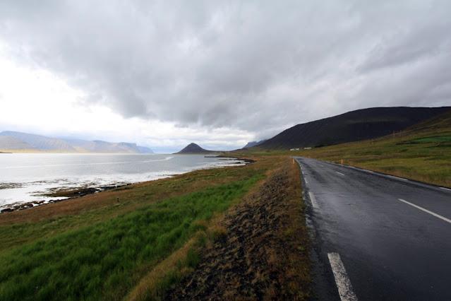 Paesaggio dei fiordi occidentali