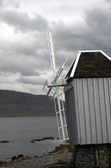 Mulino a vento sull'Isola di Vigur
