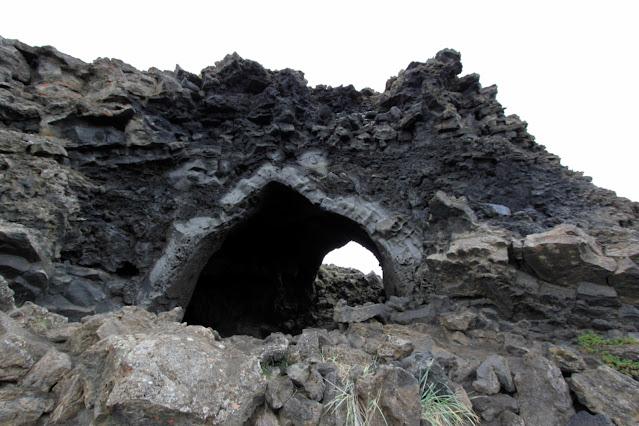 Kirkjan-Formazione basaltica-Dimmuborgir