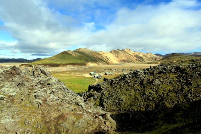 Landmannalaugar-Campo base