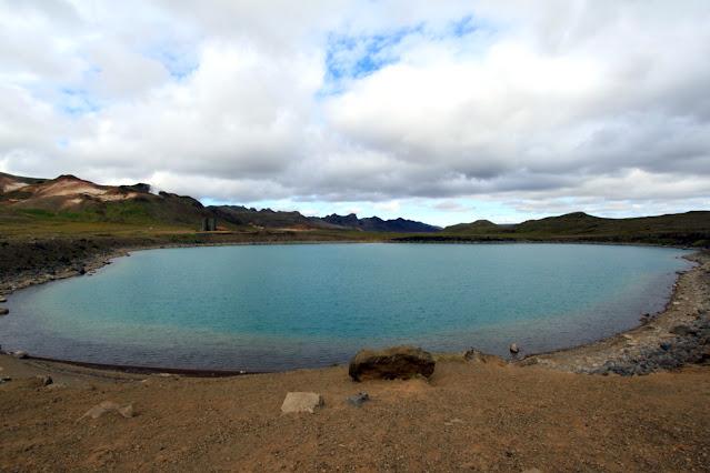 Penisola di Reykjanes-Laghetto