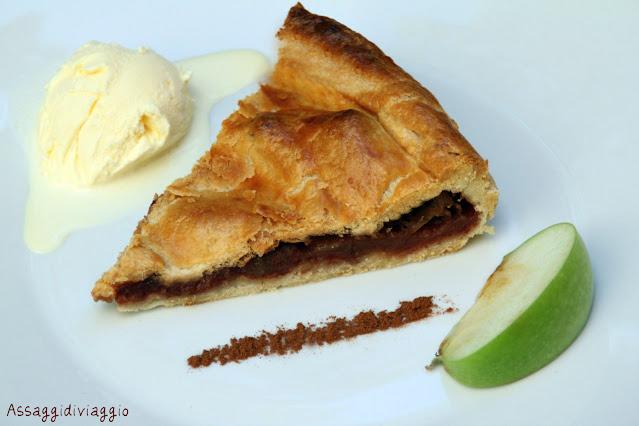 Apple Pie con gelato alla vaniglia