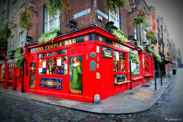 Temple bar-Dublino