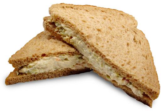 Tuna Salad Sandwich Recipe — Dishmaps