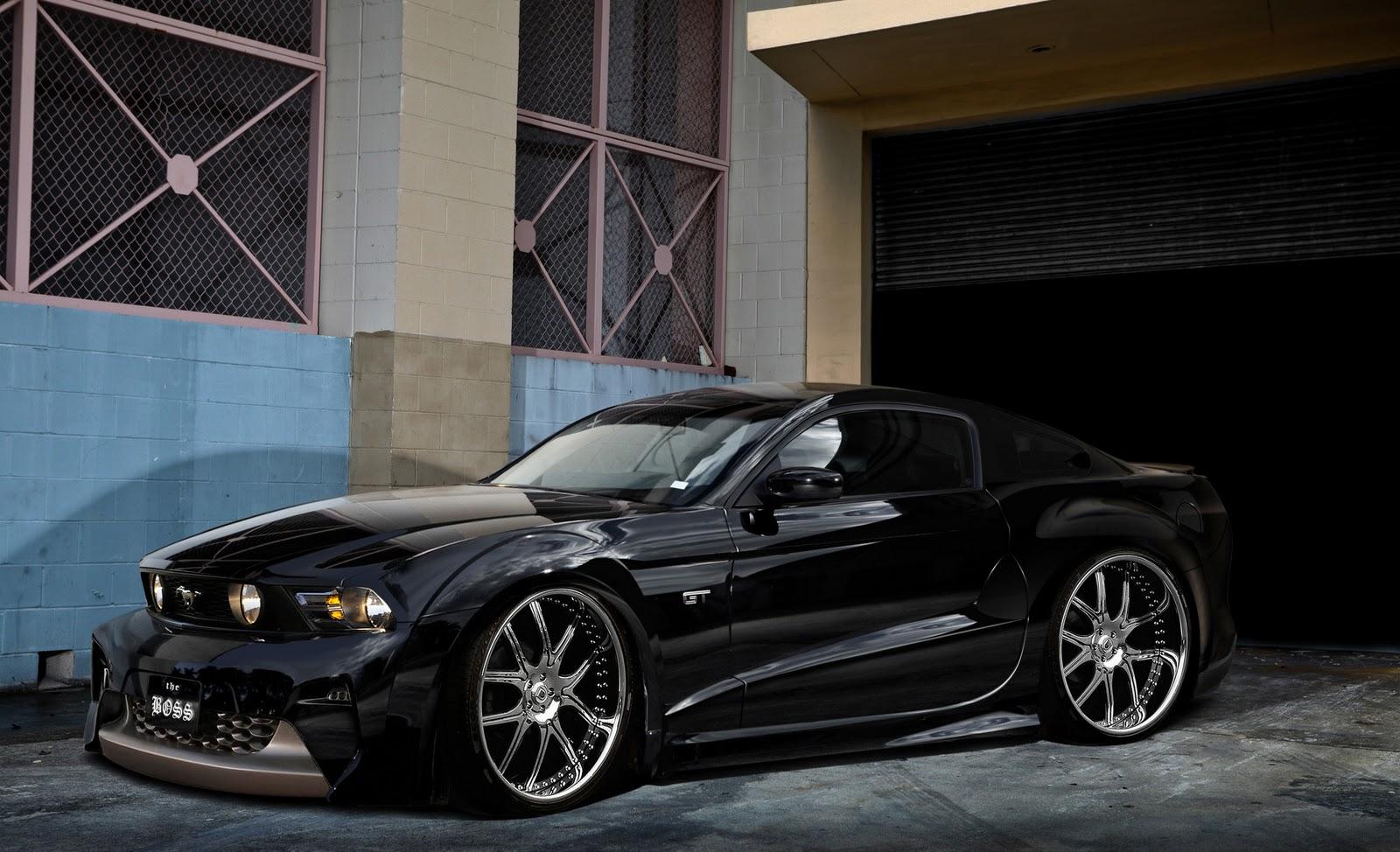 Wongseng Hd Wallpapers Black Mustang Cool Hd Wallpaper