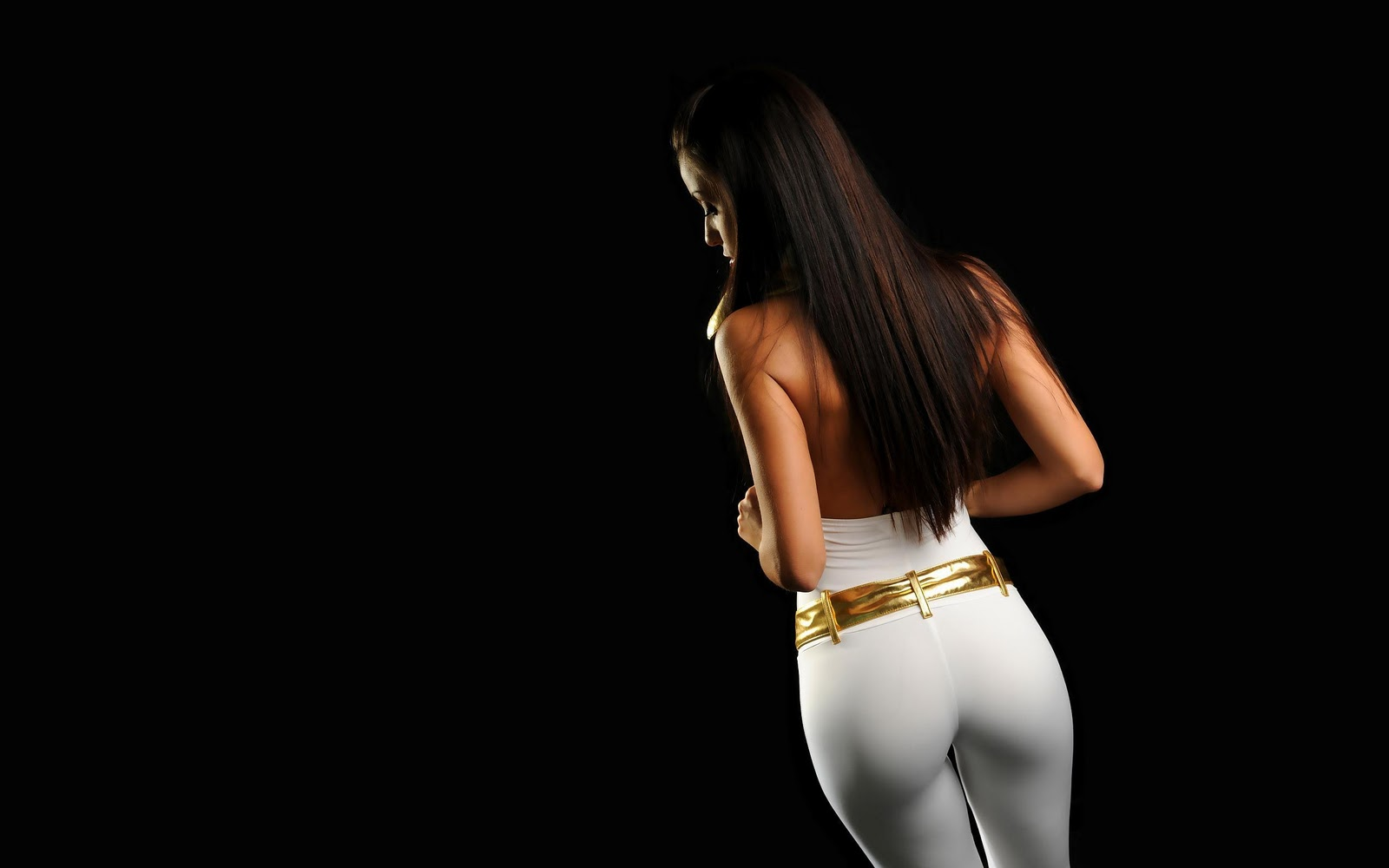 WongSeng HD Wallpapers: Wallpaper Hot Sexy Ass In white Tights