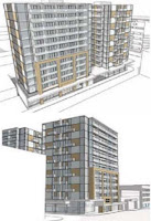 Apartments planned for the corner of Taranaki & Wigan St