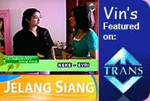 Vin's Cakes on Trans Tv