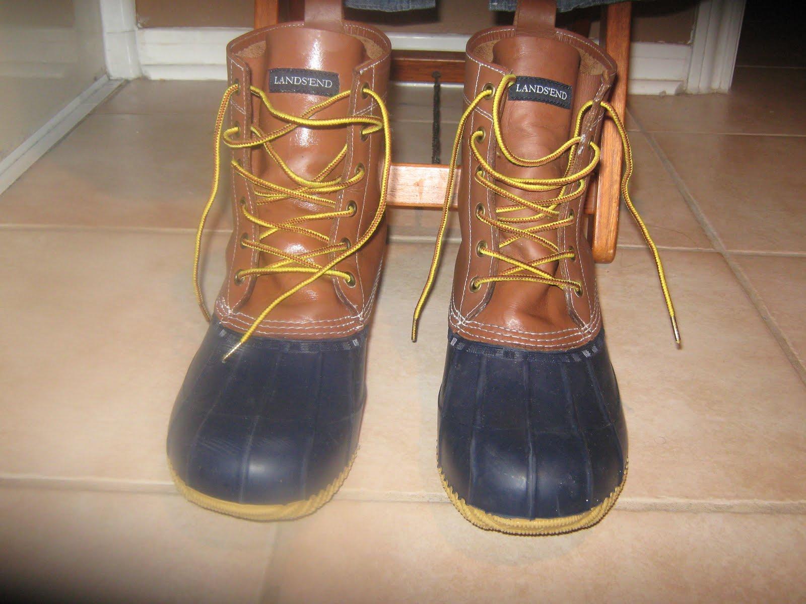 f9c176b93422e Think Mcqueen: Lands' End Canvas duck boots