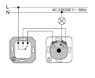 How do you Make Dimmer Schema Switches for Lamps, Brushed