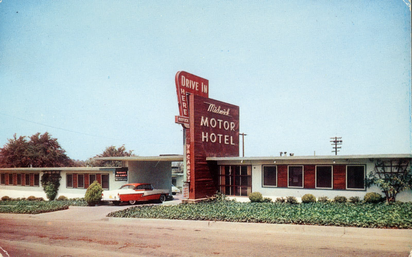 Los angeles revisited places to stay n 39 play in the san for Civic centre motor inn san fran