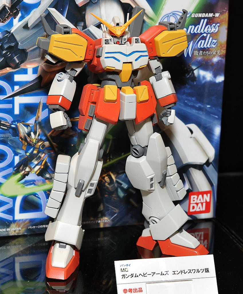 Ew Series Mg 1 100 Gundam Heavyarms Sandrock Shenlong Ew Series Large