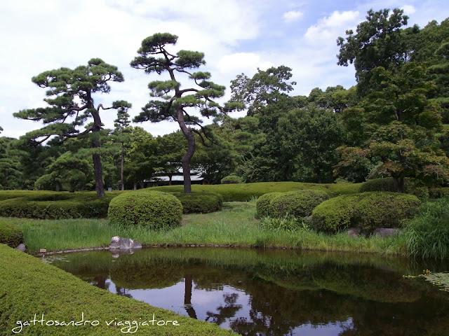 I giardini del Palazzo Imperiale