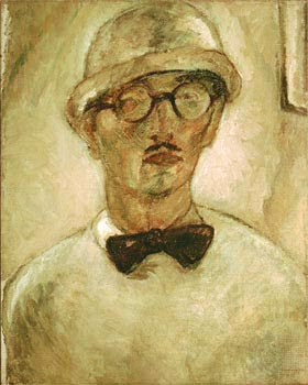 Yasuo Kuniyoshi self portrait 1927