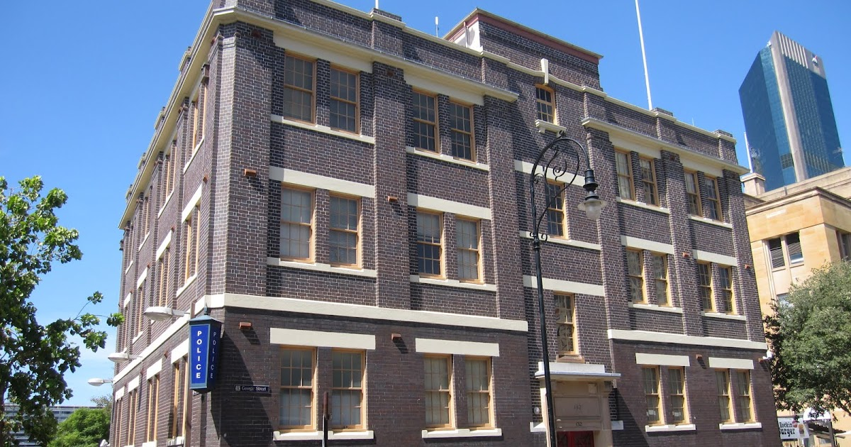 Sydney - City and Suburbs: The Rocks, police station