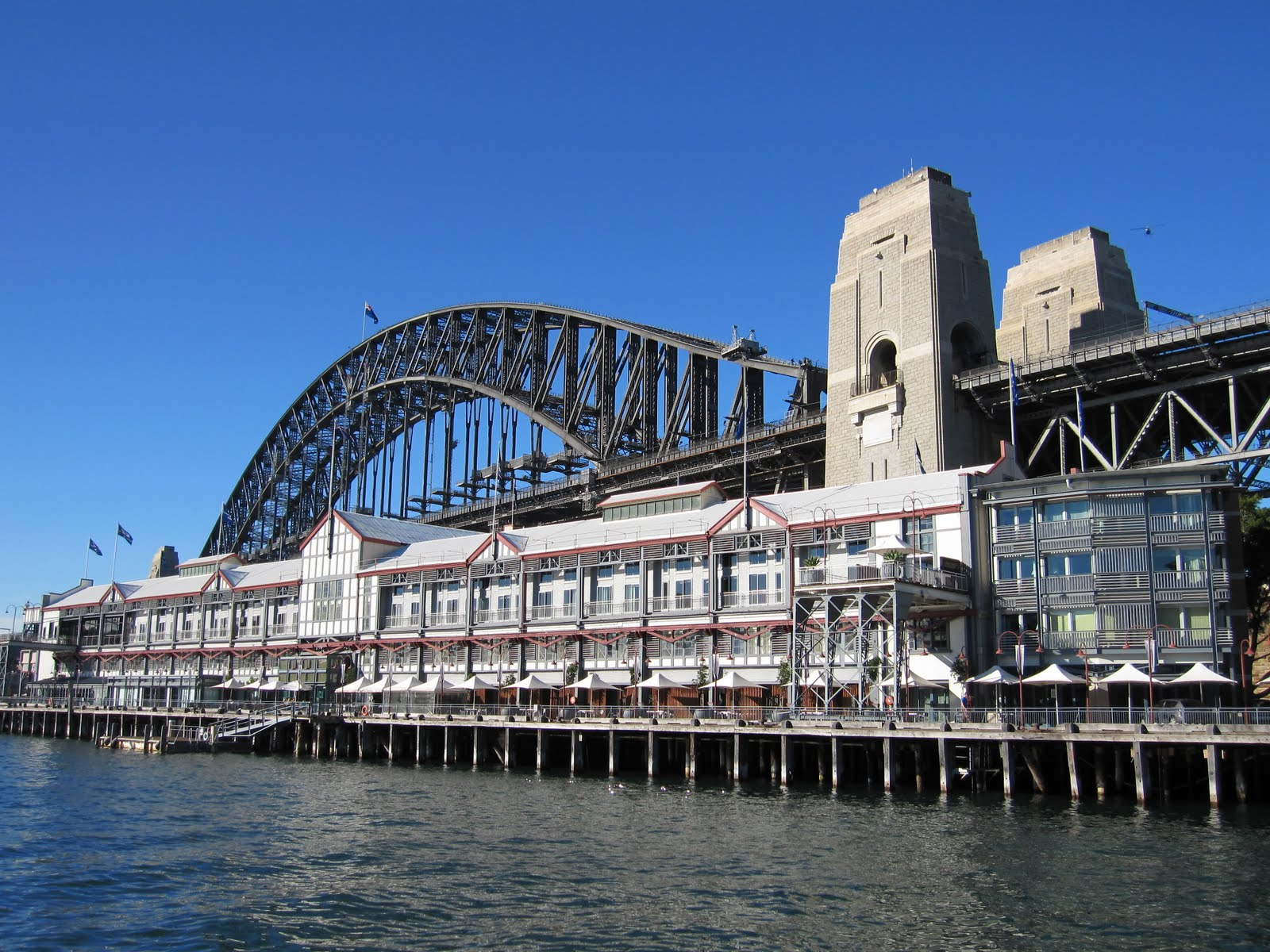 Pier One On Dawes Point Overlooking Walsh Bay Was Once Part Of Sydney S Port Facilities It Has Now Been Converted Into A Hotel Apartments