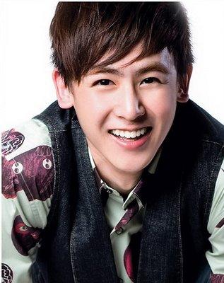 nickhun 2pm member cute smile