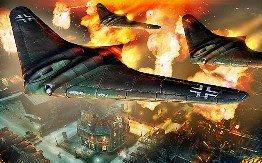 Pesawat tempur siluman pada Perang Dunia II