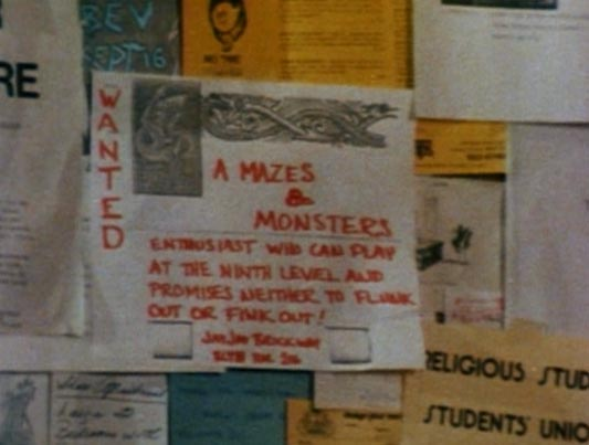 The Haunted Closet Mazes And Monsters 1982