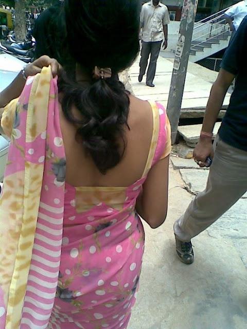 Aunty Dengulata South Mallu Actress Hot Blouses  Back -9121