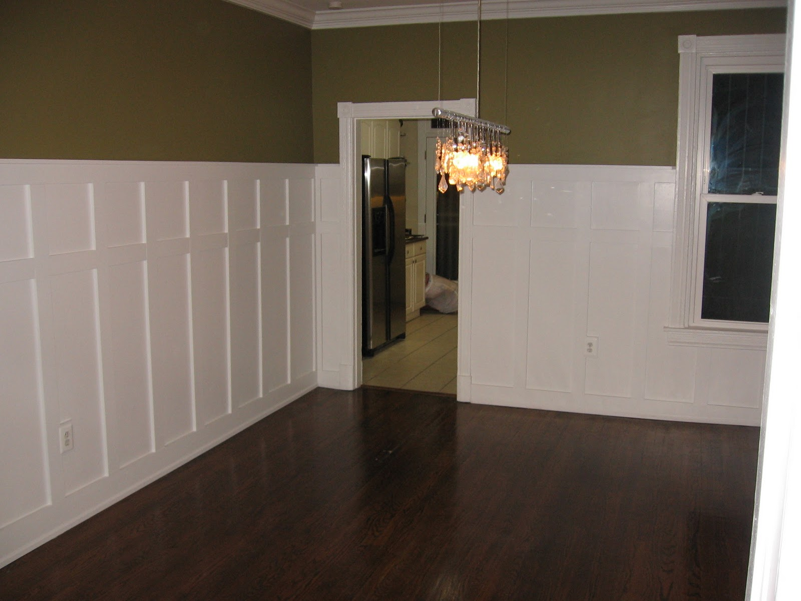 Capitol Hill Christensens: Wainscoting! Dining Room Complete