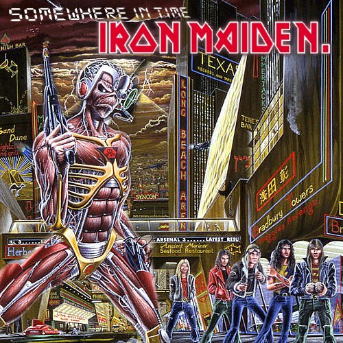 Iron Maiden - Somewhere In Time (Fanmade) | Distant Designs