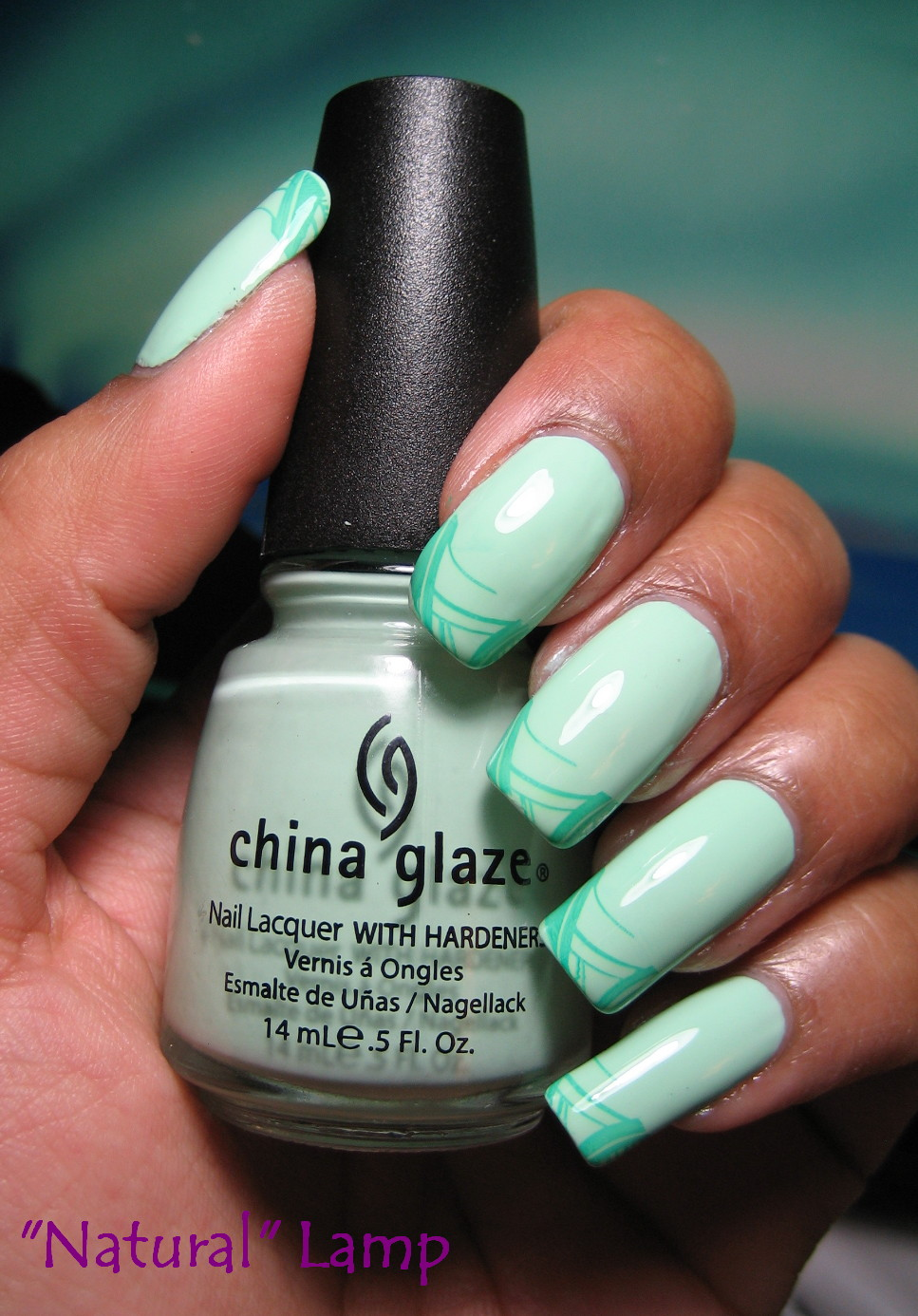 My Simple Little Pleasures Earth Day Notd China Glaze Re Fresh Mint M72