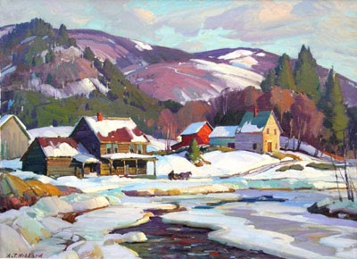 Stapleton kearns more about winter painting - What temperature can you paint outside ...