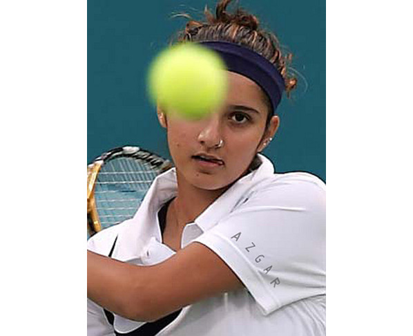 Super Players Indias Woman Tennis Star Player Sexy Sania -9113