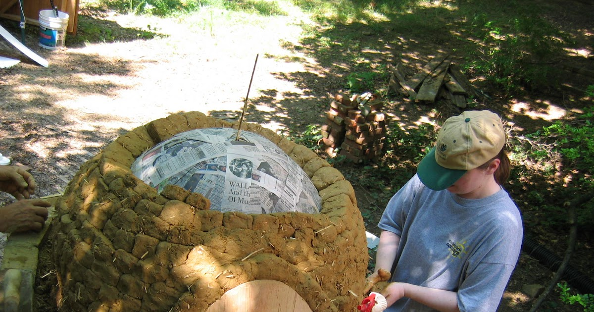 Pull Of The Tides How To Build An Earth Oven