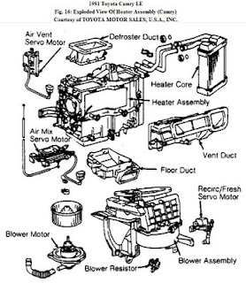 Car Repair: AC heater blower only works on 2 speeds