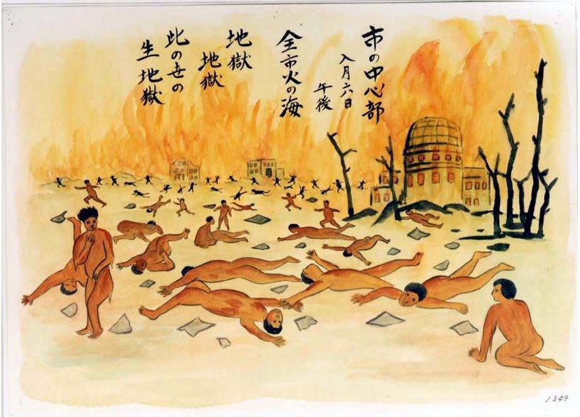 Living Underground: Children of the Atomic Bomb: Hiroshima survivors' art