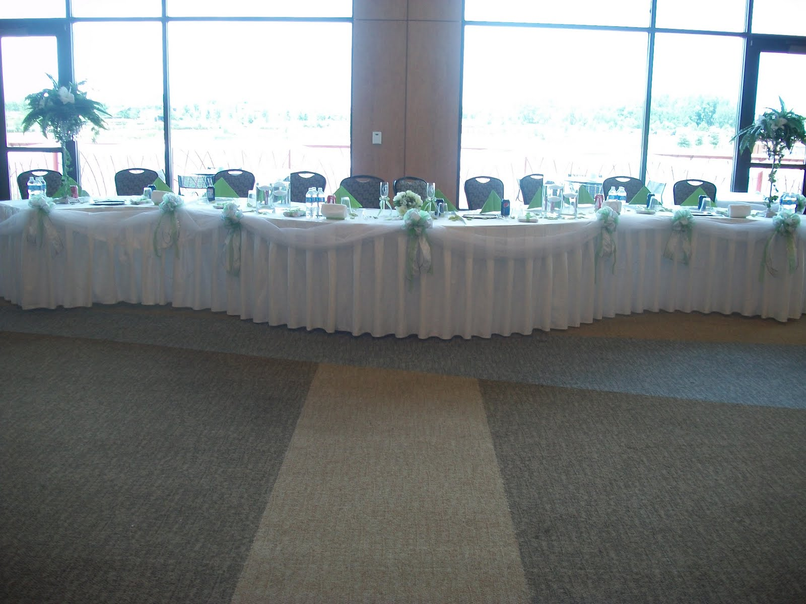 It Was An Outdoor Ceremony At Centennial Park In Munster And The Reception Indoors Clubhouse
