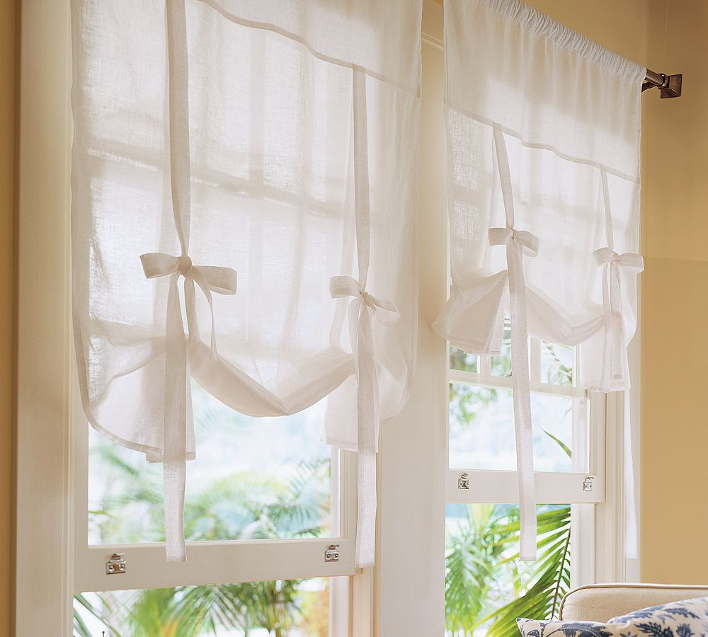tie up shade curtain