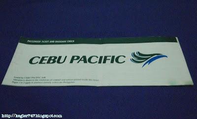 Cebu pacific paper
