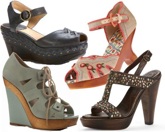 Low Wedge Heel Shoe Boots
