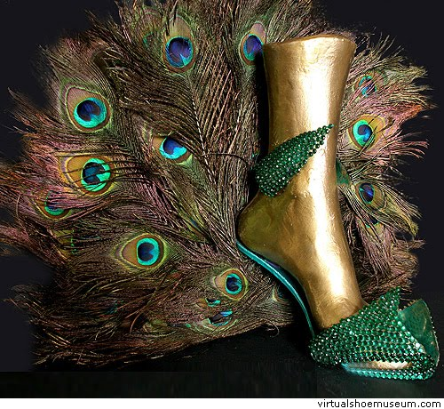 Peacock Feather Shoes Uk