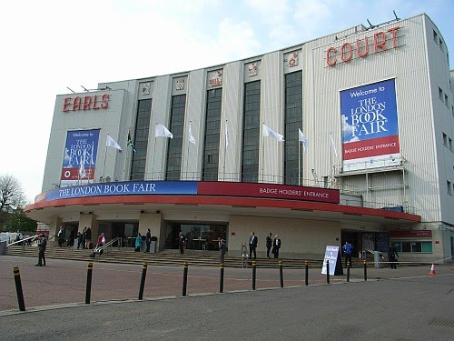 London Book Fair: Earls Court from the outside