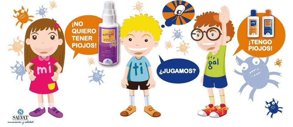 Imagenes De Piojos Animados: Noticias De Salud: Laboratorios SALVAT Lanza Mitigal Spray