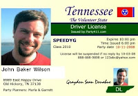 404 not found for Tennessee drivers license template